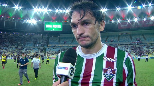 "Matheus Ferraz: ""Tivemos chance de matar o jogo no primeiro tempo"""