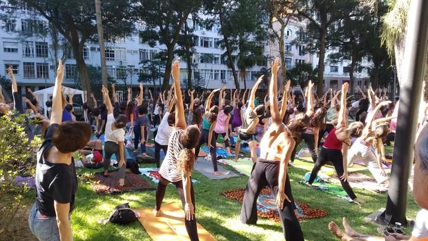 Atma Zen, iniciativa no Rio de Janeiro de incentivo ao ioga (Foto: Reprodução/Atma Zen)
