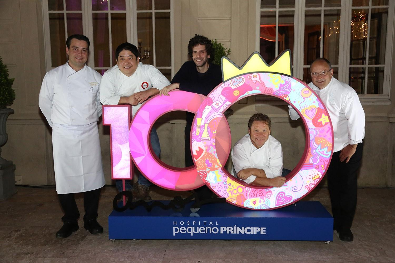 Jantar de gala marca início das comemorações pelos 100 anos do Hospital Pequeno Príncipe (Foto: Divulgação)