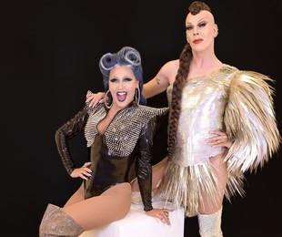 Xuxa e Ikaro Kadoshi em 'Caravana das drags' | Divulgação