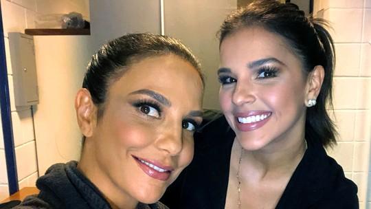 Ivete Sangalo comenta 'amizade' com Mariah Carey: 'Ela me chama de Ive'