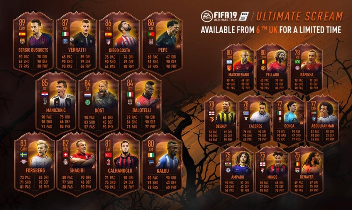 FIFA 19: Ultimate Team Ganha Evento De Halloween Com