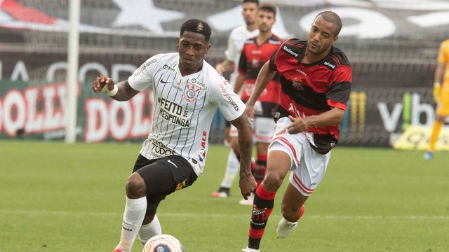 Yony González em  Corinthians x Ituano