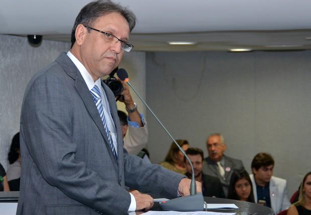 O governador do Tocantins, Marcelo Miranda (PMDB) (Foto: Silvio Santos/ AL 05/03/2013)