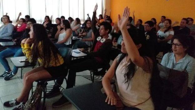 Aula foi tema de elogios, críticas e piadas (Foto: DIVULGAÇÃO/UPN)