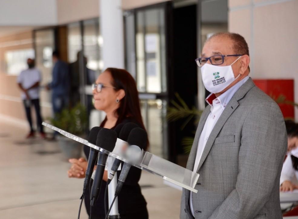 Getúlio Marques, secretário de Educação do RN — Foto: Sandro Menezes