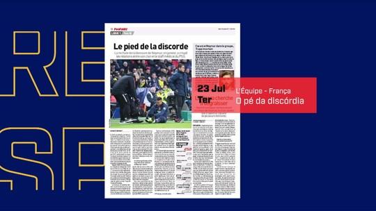 Jornal revela insatisfação do PSG com tratamento de lesão de Neymar; Rodrigo Lasmar nega