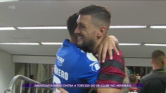 Duelo Flamengo x Cruzeiro marcará reencontro de Arrascaeta com a Raposa em Belo Horizonte