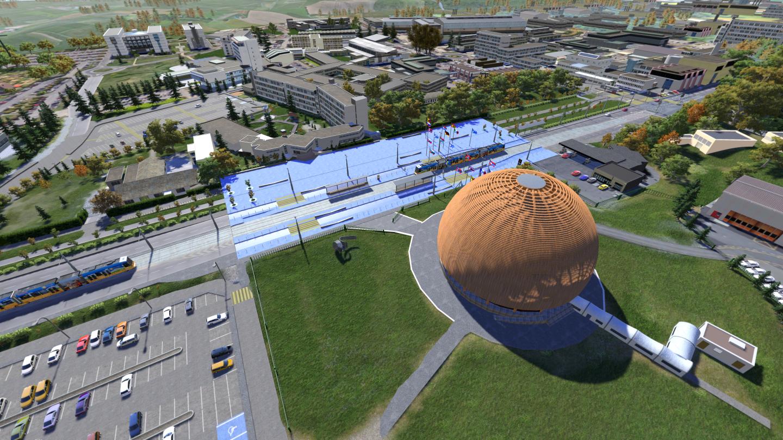 O CERN (Foto: Briard, Francois / CERN)