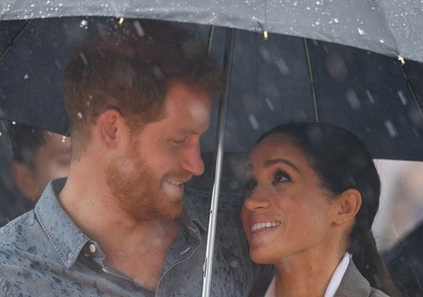 Meghan Markle e príncipe Harry  (Foto: Getty Images )