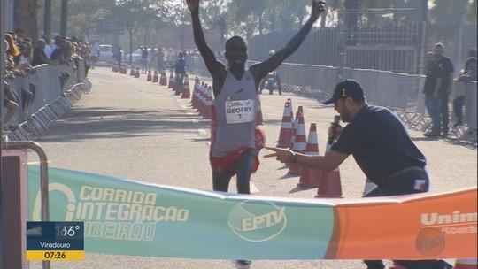 Quenianos vencem 4ª Corrida Integração de Ribeirão Preto; masculino tem novo recorde