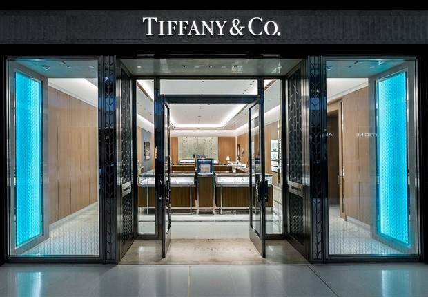 Nova loja da Tiffany&Co no Brasil: no shopping JK, em São Paulo (Foto: Massimo Falluti/Tiffany&Co./Divulgação)