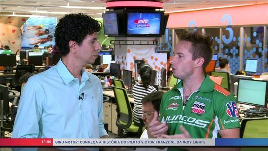 Giro Motor: rumo à Indy, brasileiro dirige caminhão para viabilizar carreira de piloto