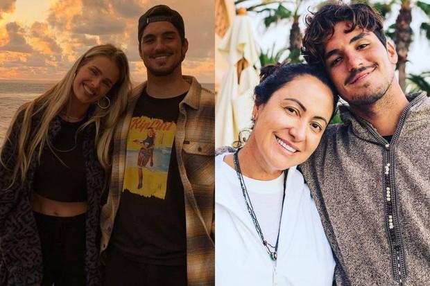Mãe de Gabriel Medina desabafa em meio a briga familiar: Precisam sustentar sua maldade