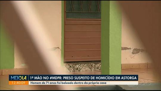 Polícia prende suspeitos de matar idoso dentro de casa em Astorga