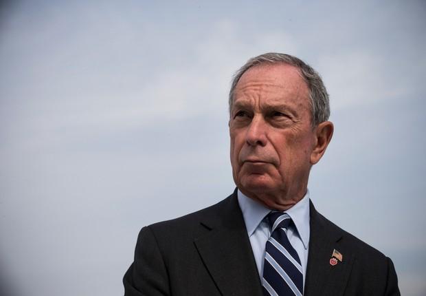 O bilionário norte-americano Michael Bloomberg (Foto: Andrew Burton/Getty Images)