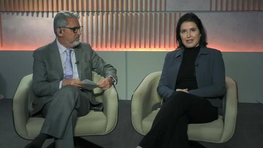 'Bolsonaro pode ajudar ficando calado', diz Simone Tebet sobre reforma da Previdência