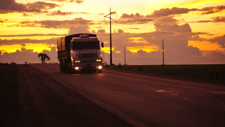 estrada_transporte_caminhao (Foto: Acervo/Ed. Globo)