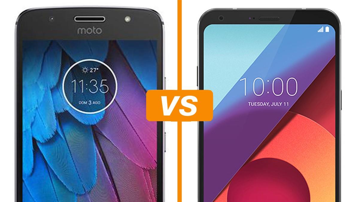 343872ecb Moto G5S vs LG Q6  celulares disputam em preço e ficha técnica ...