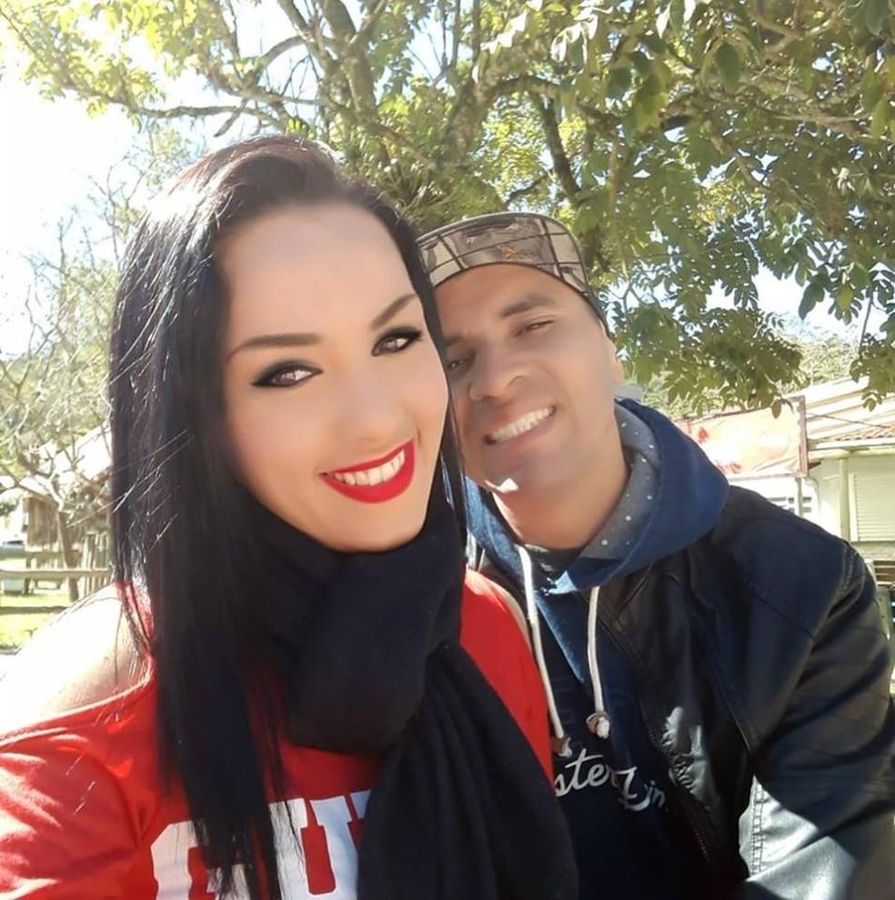 Daiane foi morta e marido foi encontrado morto em São José Batista — Foto: Reprodução/Facebook