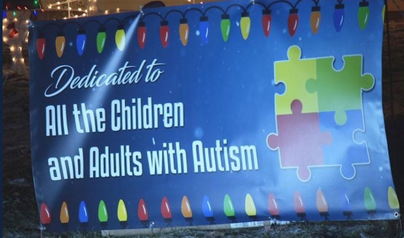 Neste ano, o pai dedicou o trabalho a todos os autistas (Foto: Reprodução/Twitter)