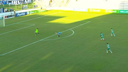 Tardelli vibra com primeiro gol pelo Grêmio e se vê pronto para iniciar como titular