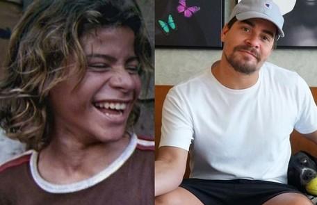 Thiago Martins surgiu no filme 'Cidade de Deus', aos 12 anos. Ele fará o filme 'Carga máxima', da Netflix Reprodução