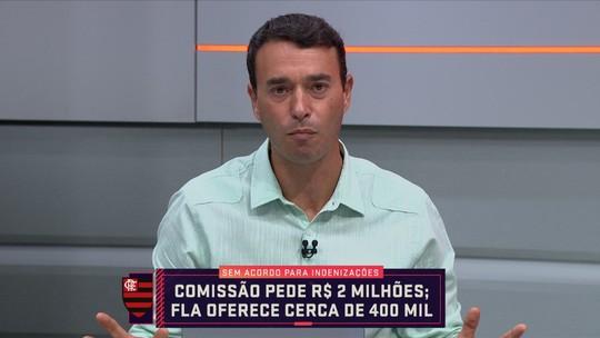 """André Rizek: """"Flamengo não pode deixar o caso ir para a justiça"""""""