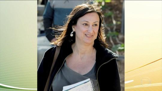 Suspeitos de matar blogueira que criticou o governo de Malta são presos