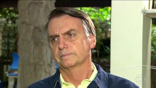 Bolsonaro diz que, se eleito, futuro procurador-geral não será do MP militar