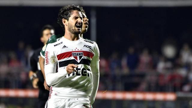 São Paulo x Palmeiras - Alexandre Pato
