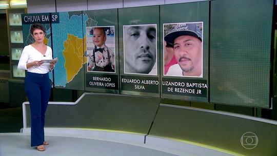 Temporal na Grande São Paulo teve 13 mortes