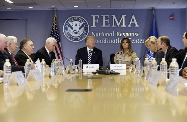 Melania Trump e Donald Trump (Foto: Getty Images)