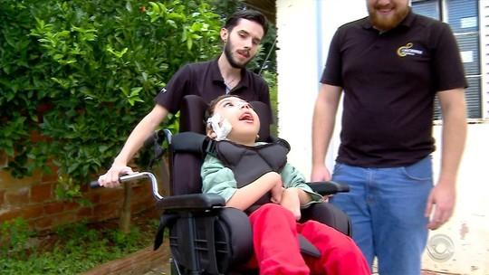 Estudantes de Passo Fundo se mobilizam para presentear menino tetraplégico