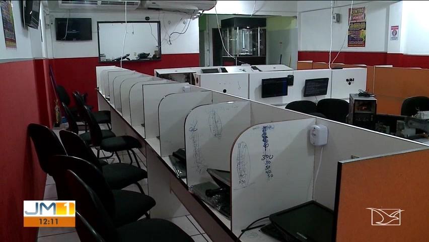 Polícia Civil fecha casas de jogos de azar em São Luís, durante a Operação Caça-níquel