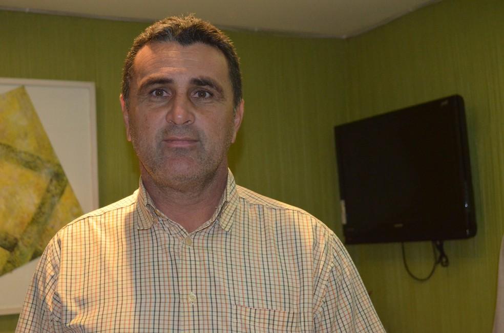 Malaquias é presidente do Sabugy — Foto: Pedro Alves / GloboEsporte.com