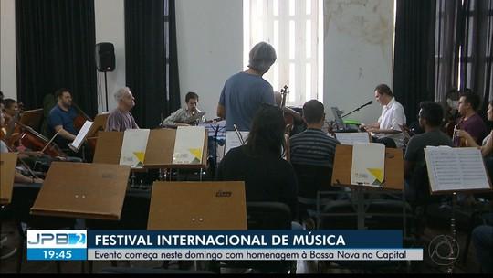 Festival Internacional de Música Clássica de João Pessoa começa neste domingo
