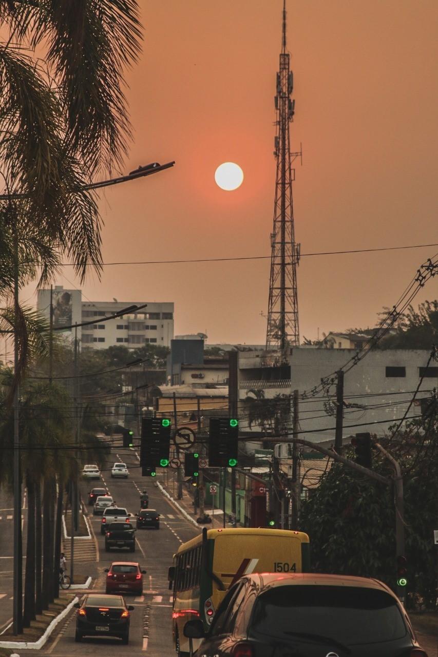 No Acre, poluição do ar está quase três vezes acima do permitido, diz pesquisador
