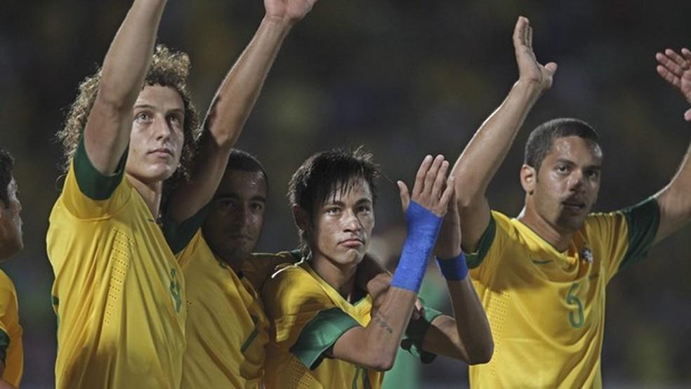 Lesões tiraram a chance de Rômulo disputar a Copa de 2014 — Foto: Divulgação / CBF