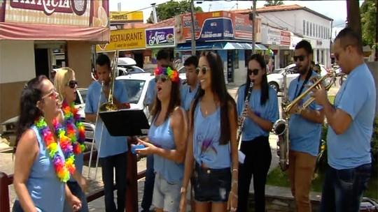 Marchinhas agitam o carnaval em Pirenópolis