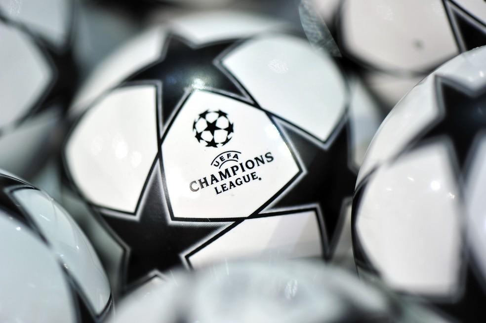 Sorteio Champions League 2020/21 — Foto: Reprodução / Twitter