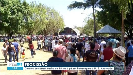 Eventos em diversas cidades de MS homenageiam a padroeira do Brasil