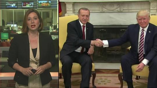 Donald Trump anuncia sanções contra a Turquia
