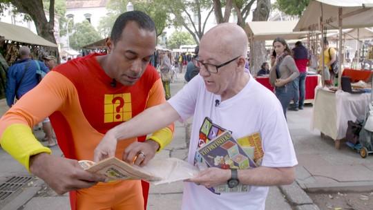 Hoje é dia de história em quadrinhos: feira de gibis