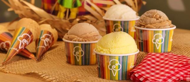 Sorvete Brasil: quatro sabores inspirados nas festas juninas e julinas