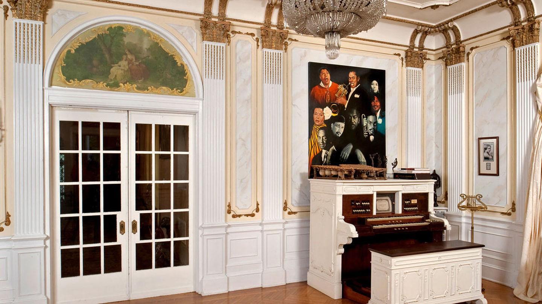 A mansão de Madam C. J. Walker, a primeira negra milionária dos Estados Unidos (Foto: Reprodução/Saving Places)