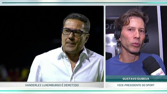 Vice do Sport elogia Luxemburgo e diz que Daniel Paulista assume até o fim do ano