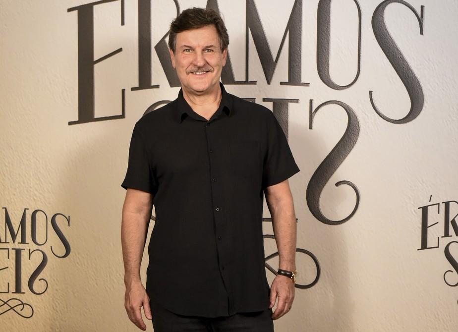 Antonio Calloni se despede de 'Éramos Seis' e celebra parceria com Gloria Pires: 'Sonho realizado!'