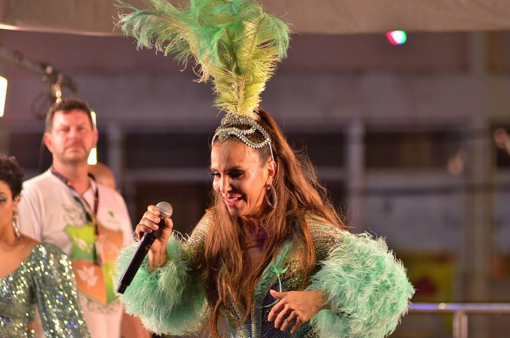 Ivete Sangalo no carnaval 2020 em Salvador — Foto: Márcio Reis /Ag Haack