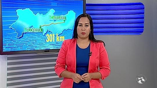 Suspeito de estupro na Bahia é preso em Floresta, Sertão de Pernambuco